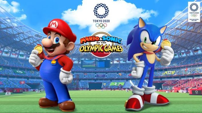 Mario and Sonic at the Tokyo Olypmics