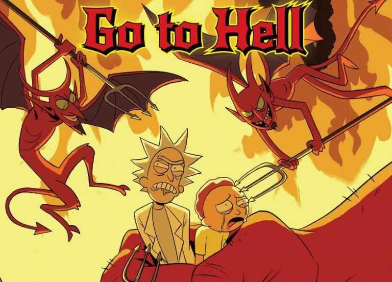 Rick and Morty: Go to Hell #1