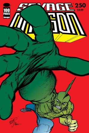 Walt Simonson, Frank Cho, Erik Larsen & Ryan Ottley Covers for Highly Anticipated Savage Dragon #250