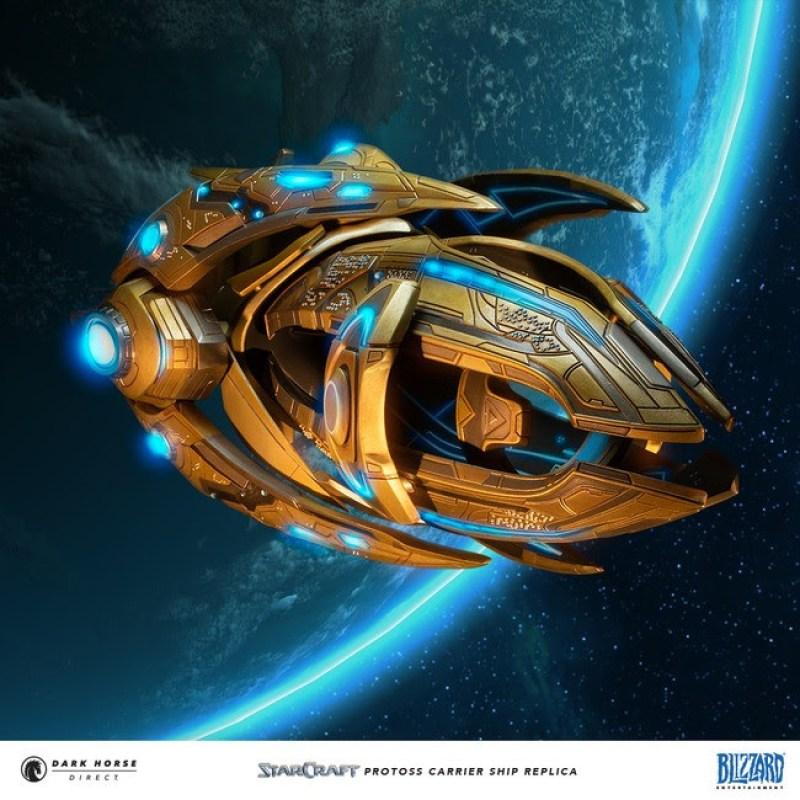 StarCraft: Protoss Carrier Replica
