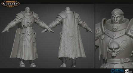 Warrior Priest character class