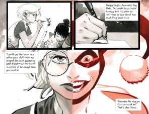 "Harley Quinn Black + White + Red Chapter Six: ""Black, White Knight, and Red"""
