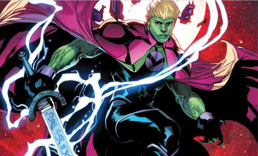 Lords of Empyre- Emperor Hulkling