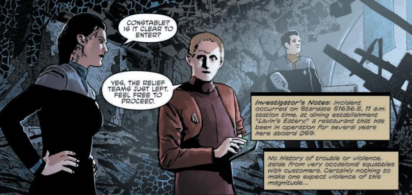 Odo in Star Trek: Deep Space Nine - Too Long A Sacrifice #1
