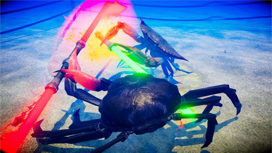 Crabs With Lightsabers?