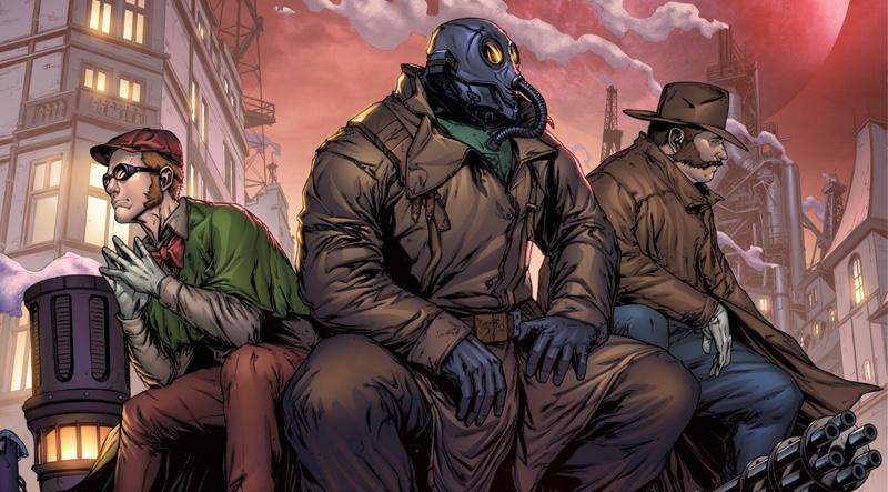 Broken Gargoyles - Top Comics of 2020