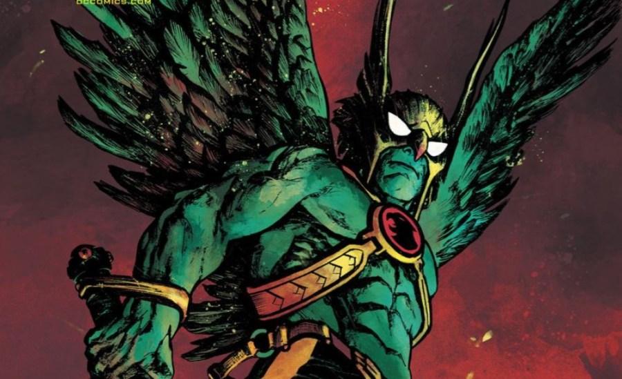 Hawkman #26 cover art