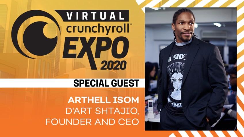 Arthell Isom Crunchyroll Expo