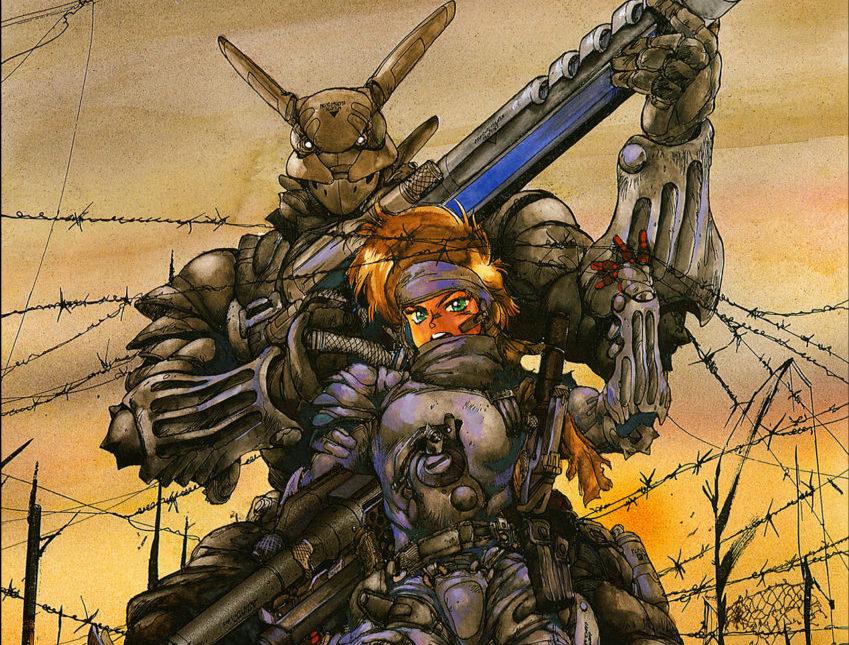 Cyberpunk manga Appleseed