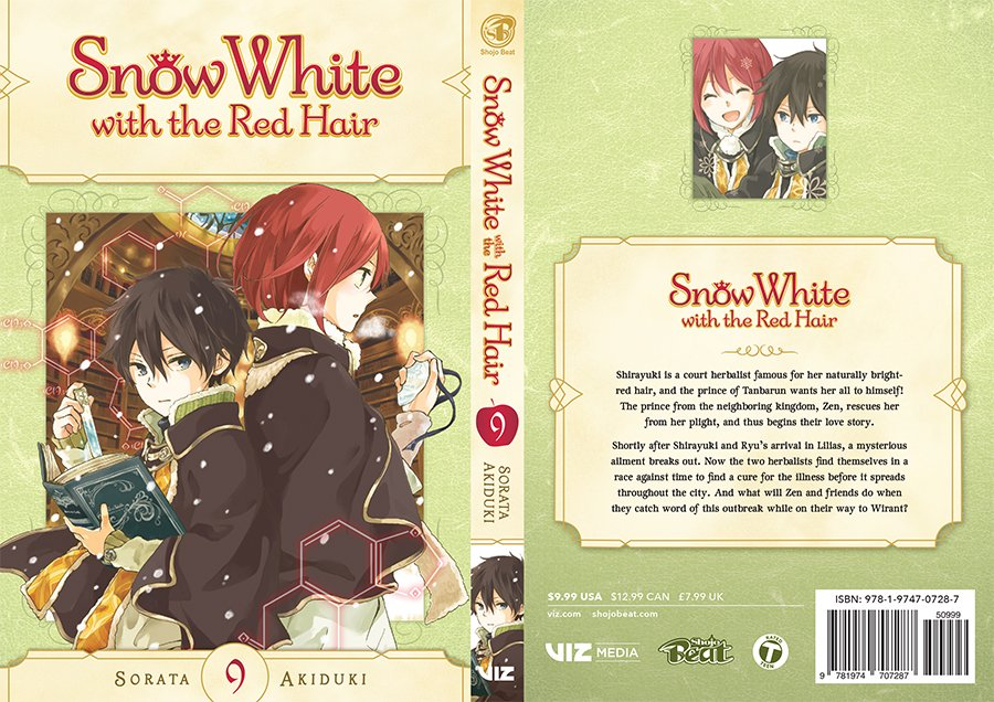 Snow White with the Red Hair Volume 9 Cover