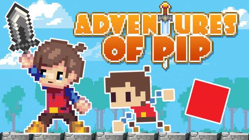 Adventures of Pip Title Screen