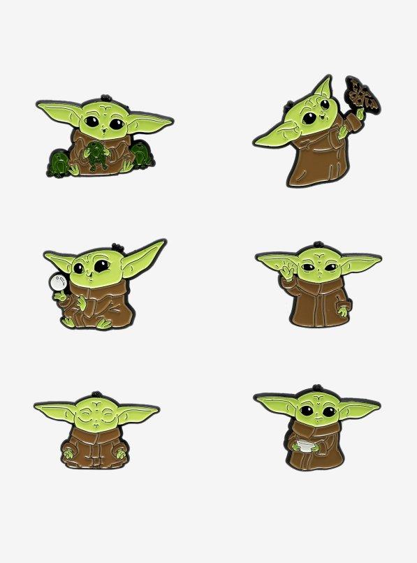 Hot Topic Baby Yoda pins