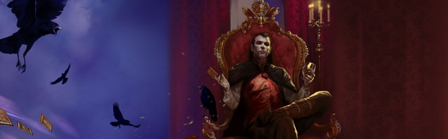 This here is Strahd. He wants to drive you mad.