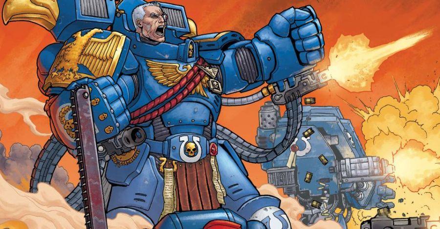 Warhammer 40K: Marneus Calgar #1