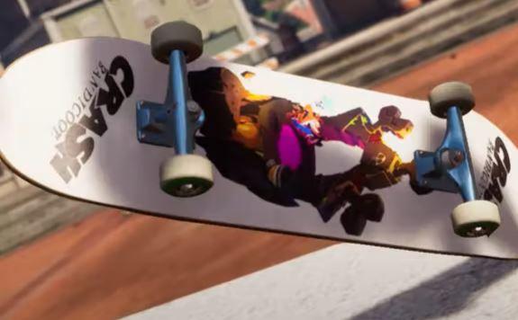 Tony Hawk Crash Bandicoot