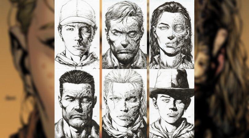 The Walking Dead Deluxe #1-6