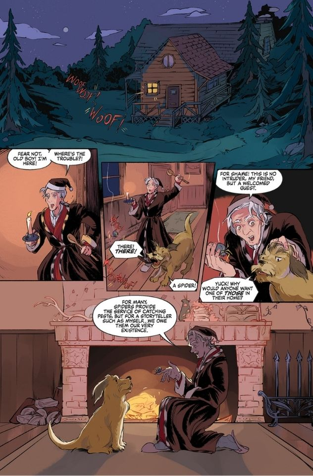 The Storyteller: Tricksters #1