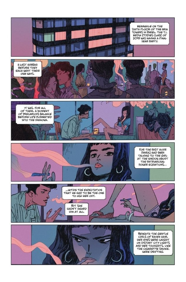 The Many Deaths Of Laila Starr #1 Preview