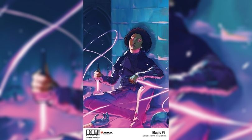 Magic #1 Hidden Planeswalker Variant Cover