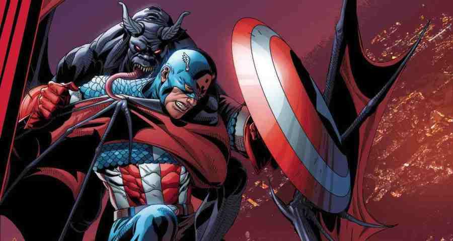 King in Black Captain America #1