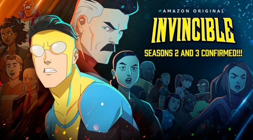 Seasons two and three Invincible