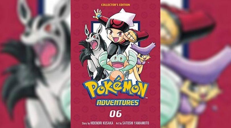 Pokemon Adventures Volume 6