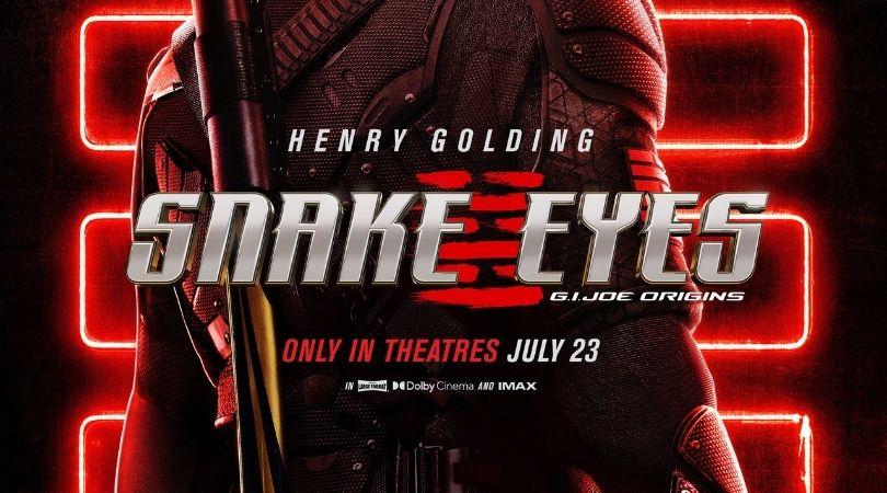 Snake Eyes Comic-Con @ Home