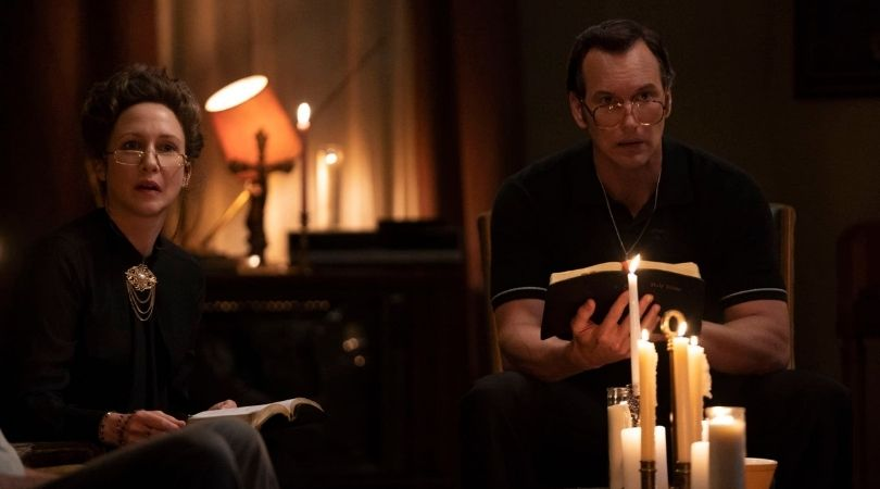 The Conjuring: The Devil Made Me Do It - horror as a point of re-entry