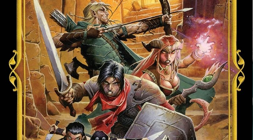 Dungeons and Dragons Fell's Five
