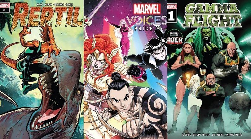 Marvel Comics To Read June