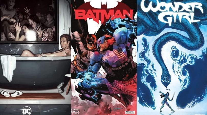 DC Comics July 6th