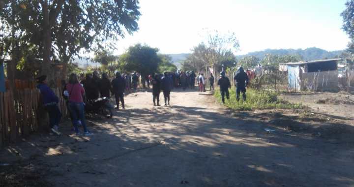 Desalojos, represión y detenidos en Salvador Mazza (Pocitos)