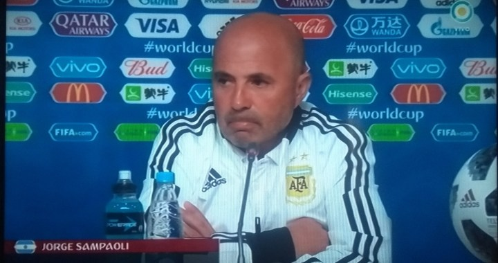 Sampaoli: «A este partido hay que jugarlo con el corazón»