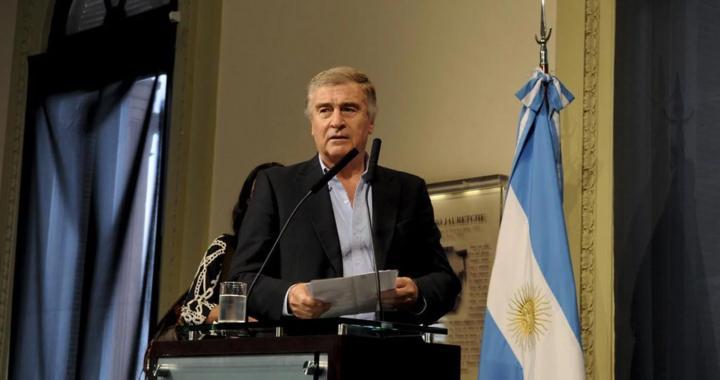 """Oscar Aguad dijo que """"en diez días"""" habrá novedades sobre el ARA San Juan"""