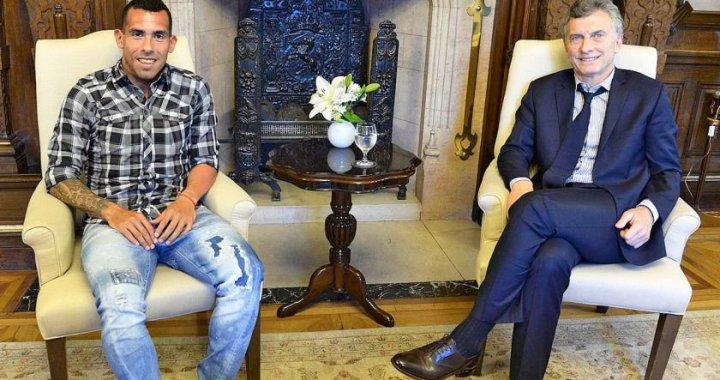 Carlos Tévez fue socio de Macri en el negocio turbio de los parques eólicos