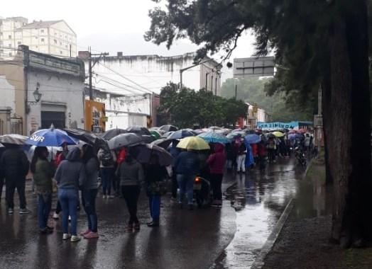 Barrios de Pie movilizó al Ministerio de Desarrollo Social