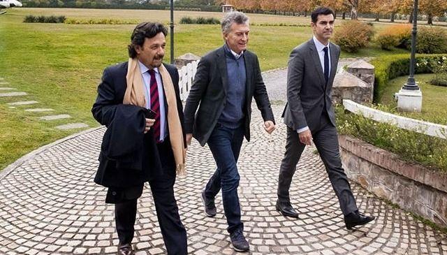 Cómo fue que Gustavo Sáenz terminó jugando a dos puntas, con Macri y Urtubey