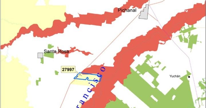 Denuncian el avance de desmontes en zonas rojas