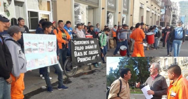 Trabajadores de vialidad siguen en plan de lucha