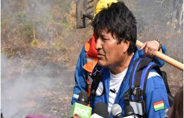 BOLIVIA: Evo Morales toma medidas claves para mitigar los incendios en la Chiquitania