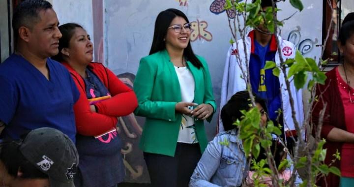 Un árbol por vereda y huertas familiares: la propuesta de Lihue Figueroa