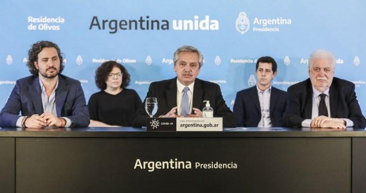 El detalle de la nueva etapa de aislamiento anunciado por Alberto Fernández