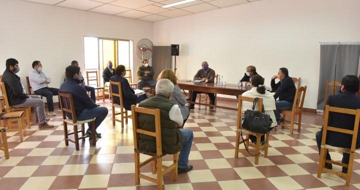 Intendentes acercan inquietudes al Ministro de Economía para paliar la crisis