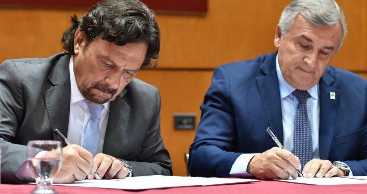 """Sáenz estudia conformar una """"zona sanitaria"""" con su par de Jujuy, Gerardo Morales"""