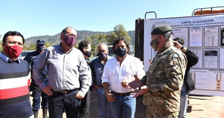 Sáenz pide a Nación la presencia del Ejército en los controles de frontera