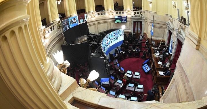 El Senado aprobó la Ley de Alquileres, sin el aporte de Juntos por el Cambio