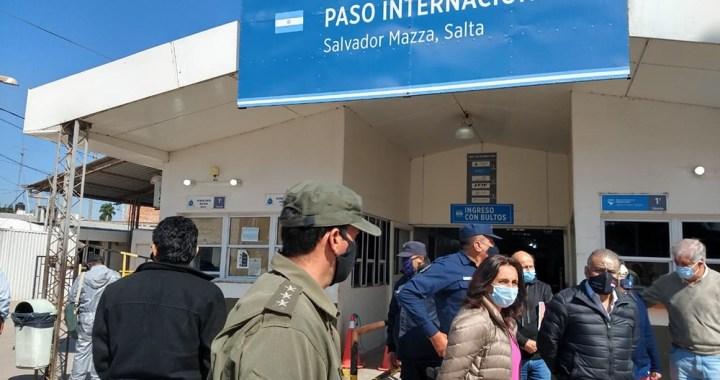 """Medrano: """"Estamos cuidando la salud de las personas en nuestra frontera"""""""