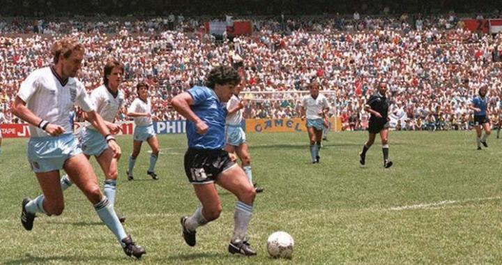 El Día del Futbolista recordará el segundo gol de Maradona a los ingleses