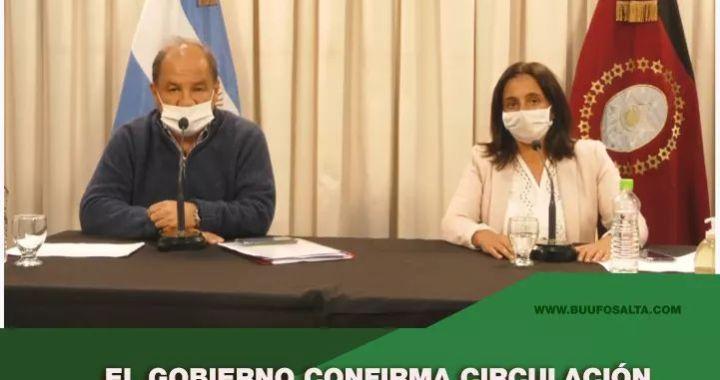 Coronavirus: pese a confirmar circulación viral, Sáenz descartó vuelta a Fase 1