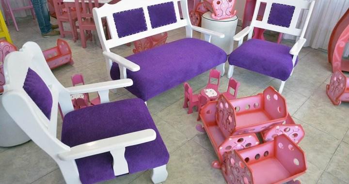 Los presos fabricaron juguetes que se venderán para el Día de la Niñez